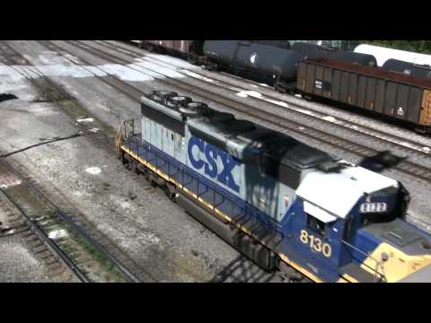 Across the USA rail scene in 30 minutes