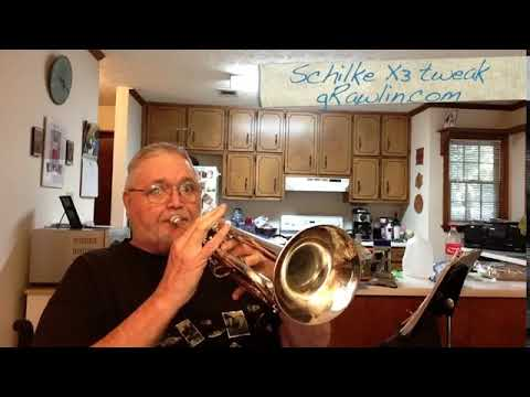 X3 Schilke Tweak a tuneable bell trumpet