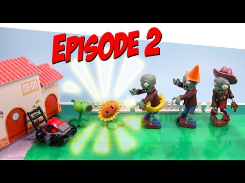 Plants vs. Zombies Toy Play Episode 2 Sunflower's Surprise