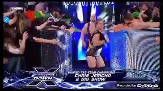 John cena-undertaker vs d-generation x vs jeri-show