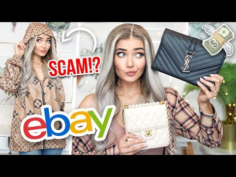 I BOUGHT FAKE DESIGNER ITEMS ON EBAY... I DID NOT EXPECT THIS!