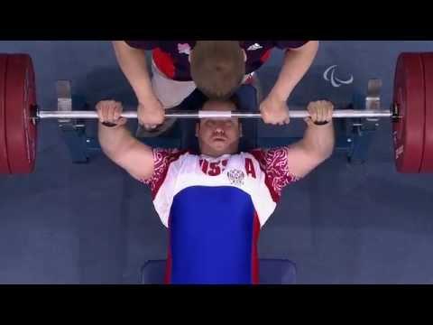 Powerlifting - Men's -90 kg Group B Final - London 2012 Paralympic Games