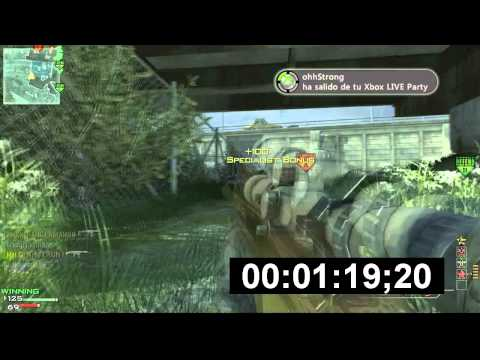 MW3: 130 second L11 Moab