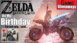 [LIVE SPECIAL] Celebrating THE LEGEND OF ZELDA, On My Birthday (Game Giveaways, Zelda Trivia & More)