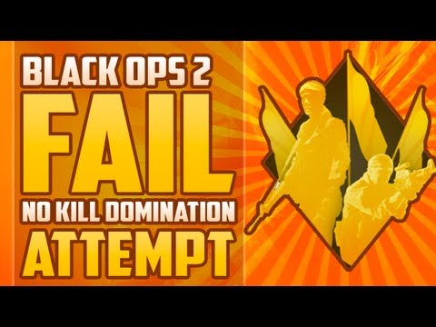 Black Ops 2 Fail: No Kill Domination Attempt