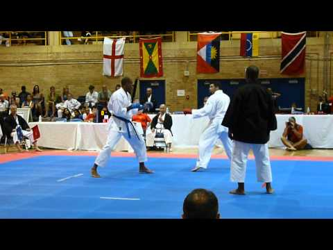 Mens Kumite Gold Medal Match | Ikd World Cup 2012 In Toronto Shotokan Karate video