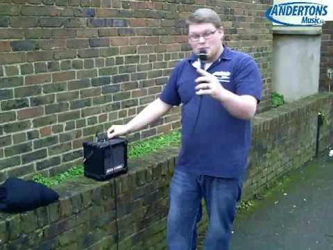 Electro Voice ND767 Microphone Destruction Test