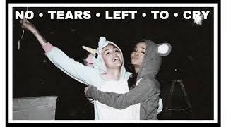 Ariana Grande Miley Cyrus No Tears Left To Cry Audio