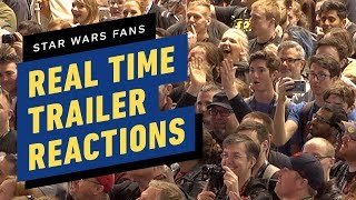 Fans React to The Rise of Skywalker Trailer- Star Wars Celebration 2019