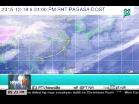 [NewsLife] Coloma: Government monitoring Typhoon 'Onyok || Dec. 18, 2015
