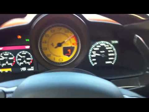 Corvette Stingray Audi on Lamborghini Gallardo Nera 0   340 Km H   Route Ouverte
