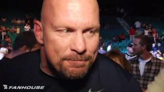 UFC 116: Stone Cold, Goldberg, Jim Ross, Paul Heyman Discuss Lesnar