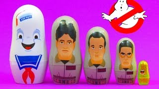GHOSTBUSTERS NESTING DOLLS SURPRISE from PPW TOYS | itsplaytime612