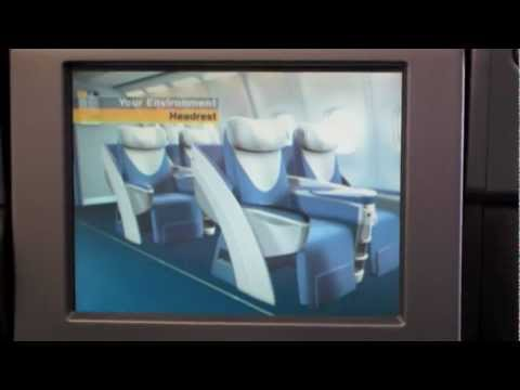 Lufthansa - BUSINESS CLASS SEAT - Long Haul flights