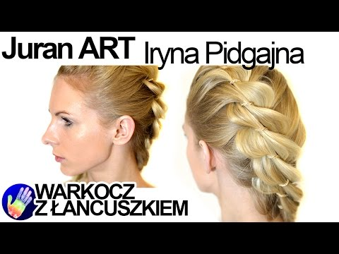 Technika Plecenia Warkoczy -Irena Pidgajna -