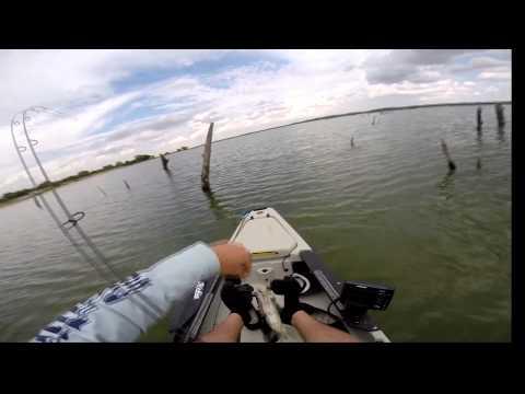 Lake Benbrook kayak Crappie Fishing