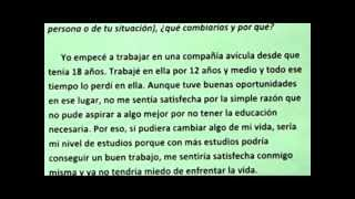spanish essays about family  wwwgxartorg june ged in spanish essay writing lesson i