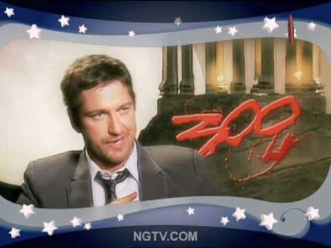 300 Sexy Secrets with Gerard Butler & Carrie Keagan uncensored Video