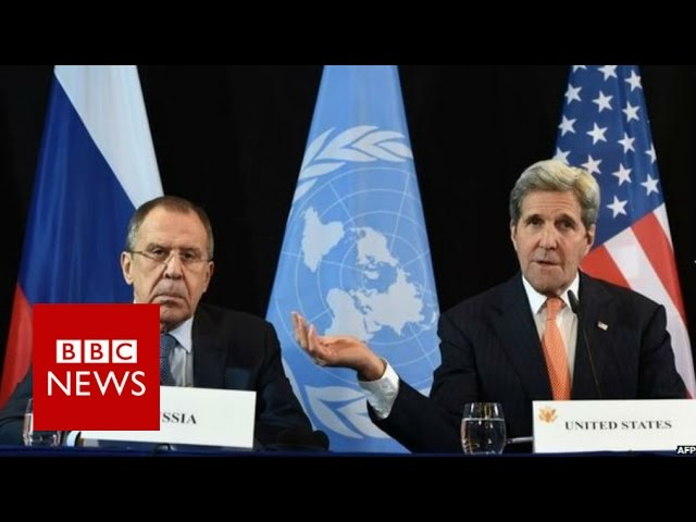 Syria conflict: World powers say 'progress made' - BBC News