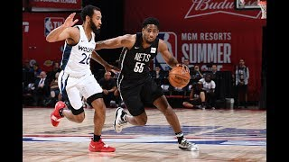 Brooklyn Nets vs. Minnesota Timberwolves - Summer League 2019 Semifinal - Full Game Highlights