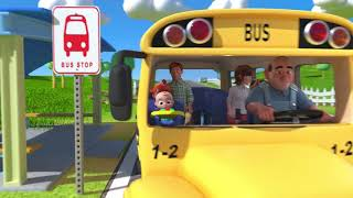 Wheels on the bus |  ( kids songs )
