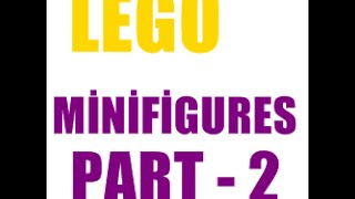 Lego Minifigures Part - 2 | Seri 13