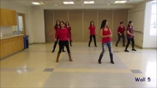 Let It Snow - Christmas Line Dance (Dance & Teach)