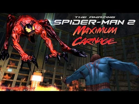 The Amazing Spider-Man 2 video game - All Carnage Scenes/ Boss Battles PS4