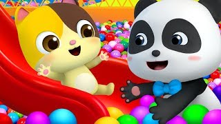 Playtime at Playground | Playground Song +More Nursery Rhymes | Kids Songs | BabyBus