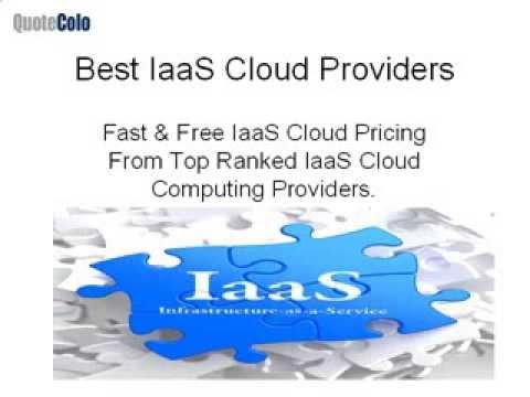 Best Iaas Cloud Providers | IaaS Hosting