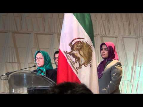 NRCI National Council of Resistance to Iran Conference Paris - Irans Anniversary of Revolution 2013