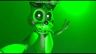DJ the green toy bonnie sings lifted up
