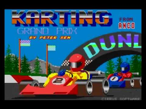 Review of Karting Grand Prix, a 1988 game for the Atari ST.