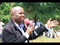 Moses Kuria gets hostile reception in Nyamira town