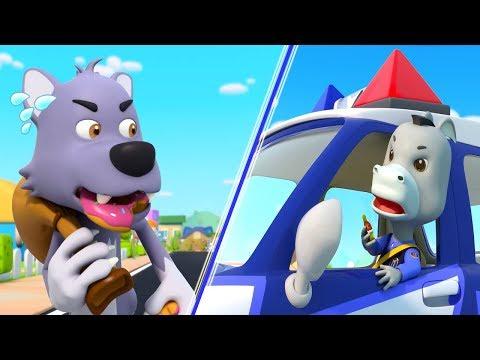 나쁜도둑 늑대를 잡아요|!경찰차 출동!||생활동요|어린이동요|율동|베이비버스 인기동요|BabyBus