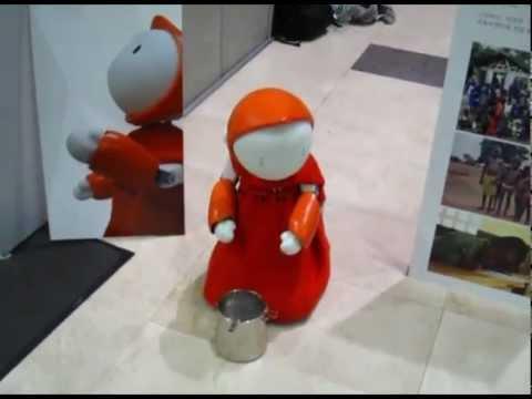 Dona – the Donation robot