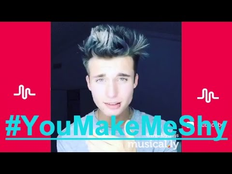 The Best You Make Me Shy musical.ly Compilation | #YouMakeMeShy