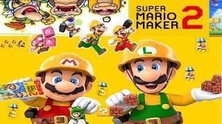 New Super Mario Maker 2 8.06. 2019 Hype Star Love Level DreamTeam Viewer level SMM 2019