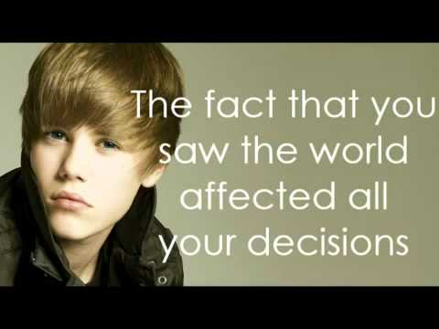 Justin Bieber - How to Love-Lyrics on Screen-New Song-Cover...
