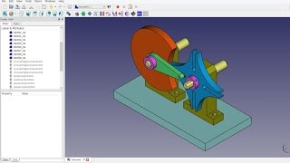 FreeCAD 0.16 (5007) TH13A - Assembly2