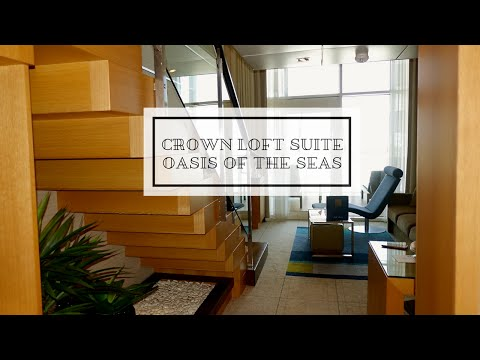 Royal Caribbean Crown Loft Suite with Balcony:  Tour and Review on Oasis of the Seas