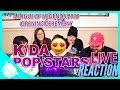 K DA POP STARS Opening Ceremony REACTION League Of Legends 2018 World Championship mp3