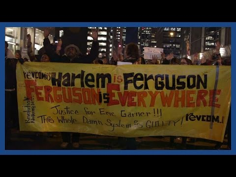 Eric Garner chokehold protests in New York | Report #1