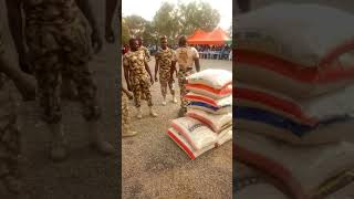 The Nigerian army heavy weight champion display in bauchi
