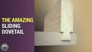 Amazing Sliding Dovetail // Easy Joinery