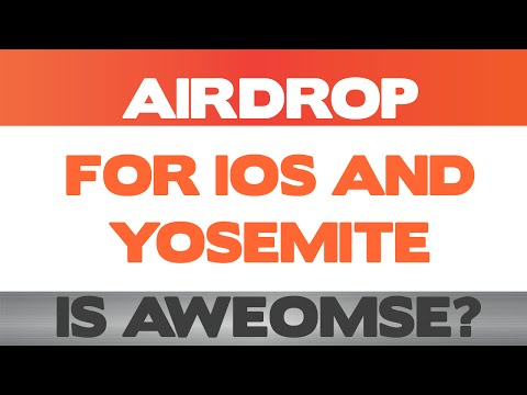Use AirDrop to effortlessly transfer files between iOS 8 and OS X Yosemite