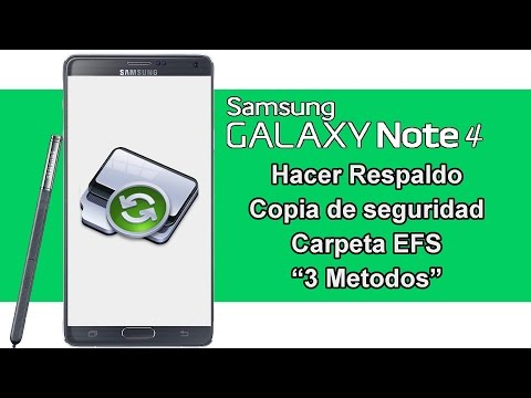 Backup Carpeta EFS Samsung Galaxy Note 4
