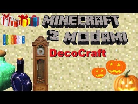 Minecraft z modami #76 - DecoCraft - Epickie Ozdoby!