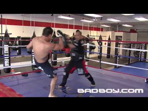 Diego Sanchez training for TUF 9 Image 1