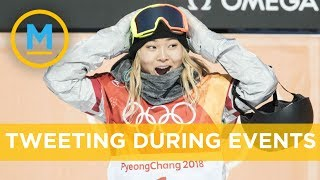 Gold medal snowboarder tweeted about ice cream during event | Your Morning